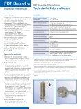 FBT Baureihe Filtergehäuse - Pall Corporation - Page 2