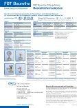 FBT Baureihe Filtergehäuse - Pall Corporation - Page 4