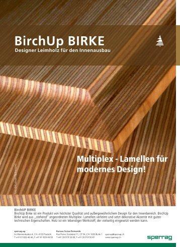 BirchUp BIRKE - sperrag ag