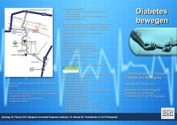Diabetes bewegen - apl. Prof. Dr. Theodor Stemper