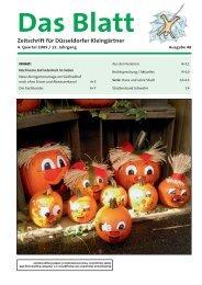 2009-04 - Verein der Gartenfreunde eV Schwelm