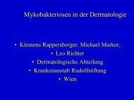 Mykobakteriosen in der Dermatologie (pdf) - 12.73 mb - AGES
