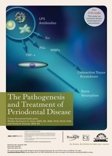 The Pathogenesis and Treatment of Periodontal ... - IneedCE.com