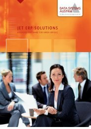 JET ERP SOLUTIONS - Data Systems Austria