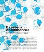 Exzellenz in Abfalltechnik (2,3 MB) - Eco World Styria