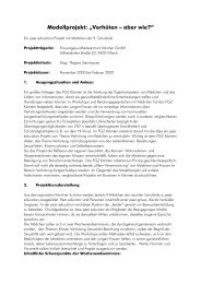 """Modellprojekt: """"Verhüten – aber wie?"""" - Frauengesundheitszentrum"""