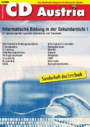 Informatische Bildung in der Sekundarstufe I - Gymnasium Völkermarkt
