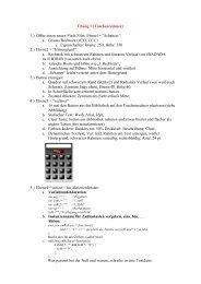 Übung 7 (Taschenrechner) 1.) Öffne einen neuen Flash Film ...