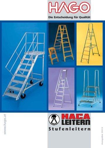 Stufenleitern - HAGO