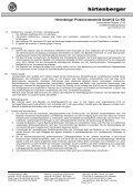 Einkaufsbedingungen für Produktionsmaterial ... - Hirtenberger AG - Page 2