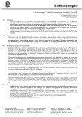 Einkaufsbedingungen für Produktionsmaterial ... - Hirtenberger AG - Page 4