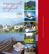 Sommertage voller Lebensfreude - Hotel Zur Post Goldegg