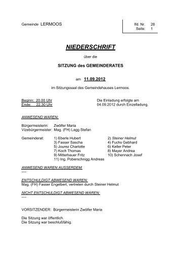 Protokoll der 26. Sitzung vom 11.09.2012 (73 KB) - .PDF