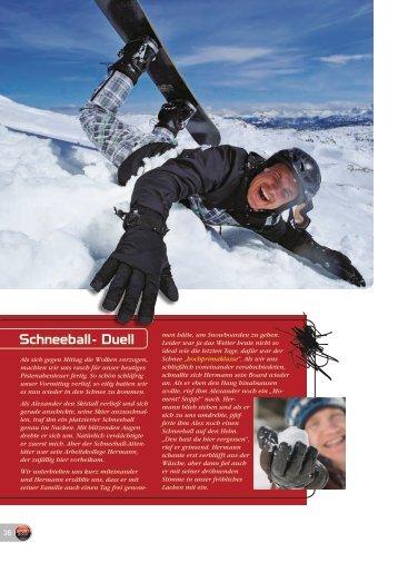 Schneeball- Duell