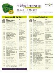 Rahmenprogramm - Messe Congress Graz