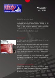 Newsletter 03/ 2010 - Infinity Racing