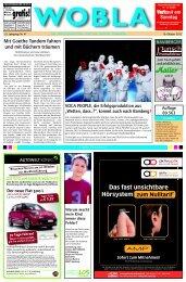 Aktuelle Ausgabe in Vollbild lesen - Wobla