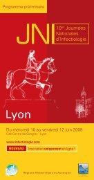 JNI10es Journées Nationales d'Infectiologie