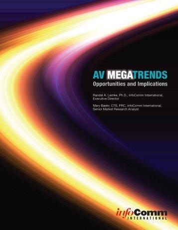 AV trends MegA - InfoComm