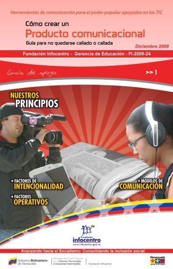 Producto comunicacional - Fundación Infocentro