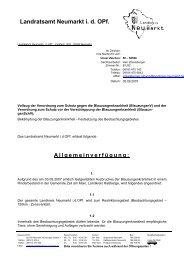 Landratsamt Neumarkt i. d. OPf. - InfoFarm