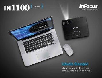 InFocus IN1124 IN1126 Datasheet (Latin Spanish)