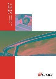 Document de référence 2007 - Eiffage