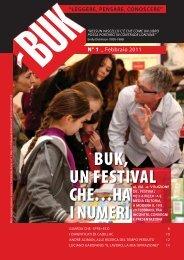 BUK, UN FESTIVAL CHE…HA I NUMERI - Infinito Edizioni