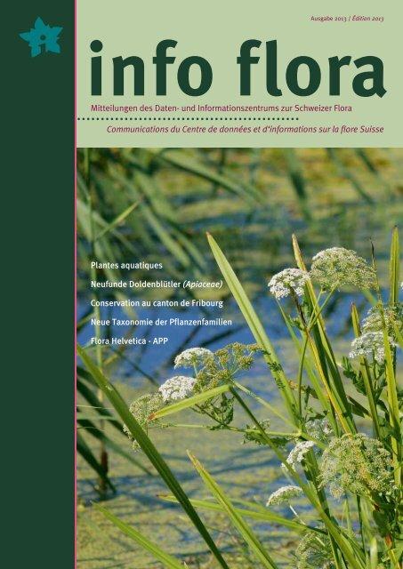download Zeitschrift - Info Flora