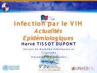 Actualité épidémiologique - Infectiologie