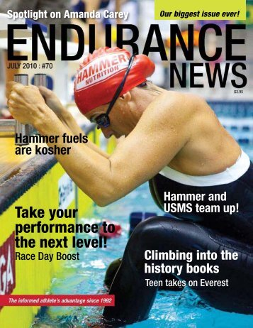 Endurance News - Issue 70 - Hammer Nutrition