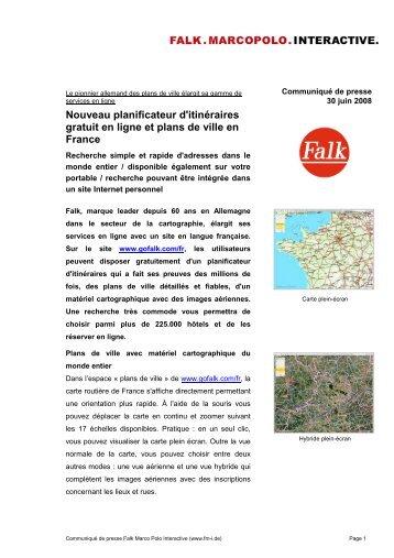 Nouveau planificateur d'itinéraires gratuit en ligne et ... - infohightech