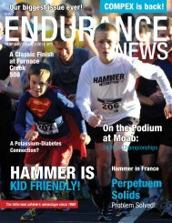 Endurance News #73: February 2011 - Hammer Nutrition