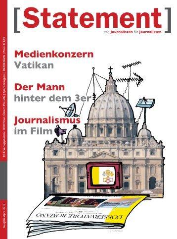 April 2013 - Österreichischer Journalisten Club