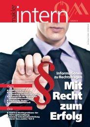 Informationen zu Rechtsfragen - Österreichischer ...