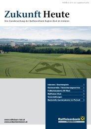 Zukunft Heute zum Download (pdf, ca. 670 KB) - Raiffeisenbank ...