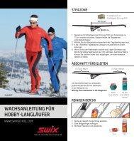 SWIX Wachsanleitung ACTIVE - ski-willy
