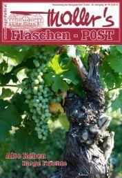Thallers Flaschenpost 2 / 2013 - Weingut Thaller