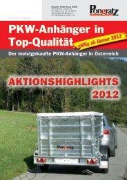 PKW-Anhänger in Top-Qualität - Weber