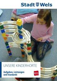 Kinderhorte der Stadt Wels - Broschüre (786 KB)