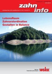 Zahn Info September 2011 - Wiener Gebietskrankenkasse
