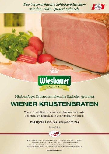 WIENER KRUSTENBRATEN - Wiesbauer