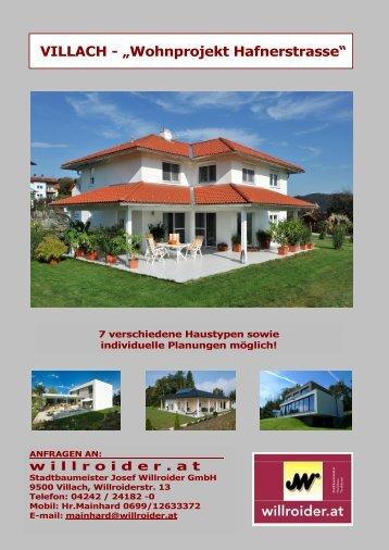 "Download Projektbeschreibung ""Obere Fellach - Hafnerstraße"" (PDF)"