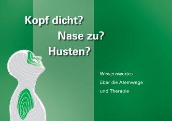 Wissenswertes Atemwege - Therapie - Alpinamed AG