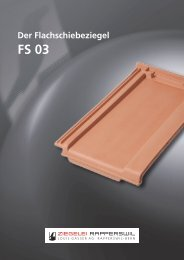 Der Flachschiebeziegel FS 03 - baumgartner-werbung • design