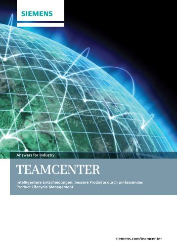 Teamcenter Overview Brochure - bytics AG