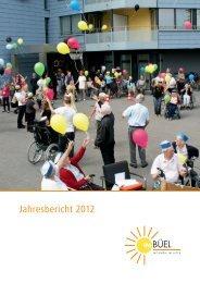 Jahresbericht 2012 - Büel