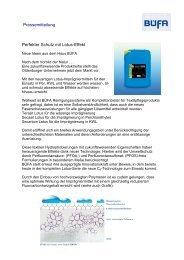 Pressemitteilung Perfekter Schutz mit Lotus-Effekt - Chemie AG