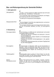 Bau-_und_Nutzungsordnung.pdf - Gemeinde Dintikon