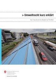 Umweltrecht kurz erklärt - Bafu - admin.ch